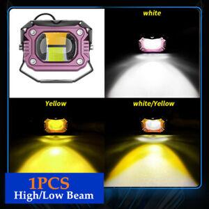 1PC 20W DC12V-80V LED Headlight Universal Fog Light Lamp High/Low Beam Part