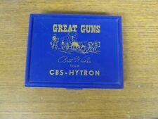 CBS-Hytron Brown Bigelow Great Guns Vintage Playing Cards Remington &  Colt .44