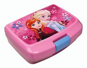 Frozen Brotdose Anna & Elsa Brotzeitdose Pausenbox Kunststoff 13x17x6 cm