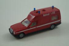 Wiking Modellauto 1:87 H0 Binz 2001 Feuerwehr