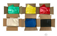 All Coloured Refuse Sacks Bin Bags 150G Rubbish Scrap Waste Large 18 x 29 x 38""