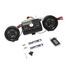 Moto Haut-Parleur Radio Stéréo Système de Son MP3 FM 12V Étanche Kit