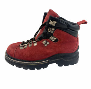 Nevada Suede Leather Upper Hiking Boots Size 7 Womens