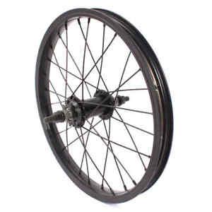 "KHE 16 "" Inches BMX Back Wheel Black 1 3/32in Aluminium Tdi Rim 28H 0 3/8in Hub"