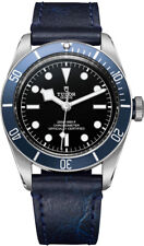 AUTHENTIC NEW TUDOR HERITAGE BLACK BAY WATCH BLUE LEATHER STRAP M79230B-0002
