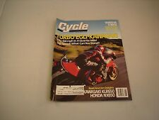 CYCLE MAGAZINE AUGUST 1988 VOLUME XXXIX NUMBER 8