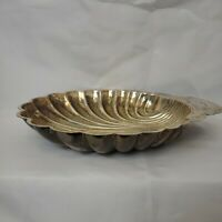 Silver Plated Vintage WM Rogers 895/4 Shell Serving Shrimp Dish