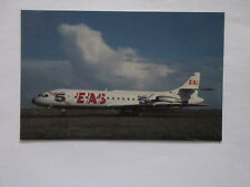 EAS EUROPE AERO SERVICE - LA CING 5  JET POSTCARD ORLY AIRPORY PARIS FRANCE