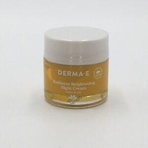 Derma E Radiance Brightening Night Cream 2oz vitamin b3 licorice