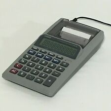 New listing Casio Hr-8L Printing Calculator Home/Office w/ Ac Power Supply Paper Roll Tested