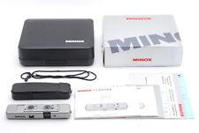 [C Normal] Minox TLX Titan Titanium Miniature Mini Camera w/Box From JAPAN Y4027