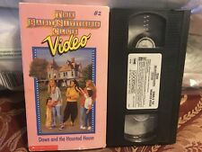 The Babysitters Club Vhs Video V2 Dawn And The Haunted House