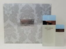 Women's Perfume Set Light Blue Pour Femme Dolce & Gabbana (2 pcs) NEW!!