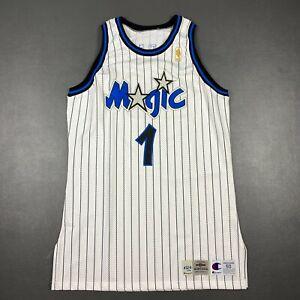 100% Authentic Penny Hardaway Champion 96 97 Orlando Magic Game Jersey