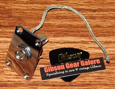 Gibson Explorer Jack Assembly Output Chrome Guitar Parts Side Mount Project 2 PT