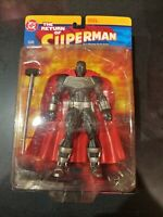 New DC Direct The Return of Superman Steel  Action Figure Comic Book Heroes Rare