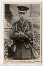 (Ld8070-473) RP, H.R.H Prince of Wales, Edward VIII Grenadier Guards, Unused VG