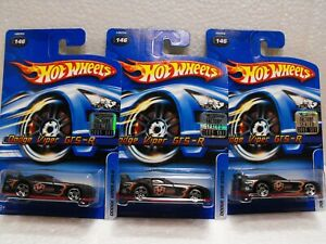 2005 HOT WHEELS #146 DODGE VIPER GTS-R FROM  FACTORY SET