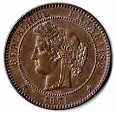 N°17 - 10 centimes. Cérès. 1871 A (A moyen) - Paris RARE