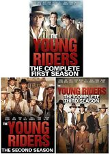 THE YOUNG RIDERS : COMPLETE SEASON 1 2 3 BOX SET  DVD - UK Compatible - Sealed