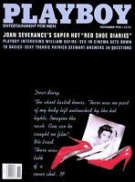 PLAYBOY NOVEMBER 1992 StephanieAdams JoanSeverance RedShoeDiaries PatrickStewart