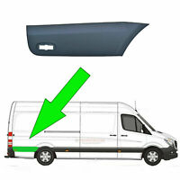 VW Crafter LWB Plastic Protective Side Moulding Strip Trim O/S 2006 -2015