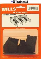 Wills SS17 Coal Bunkers (OO Scale)