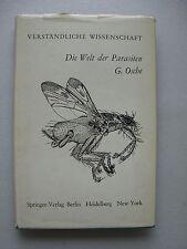 Die Welt der Parasiten 1965 Naturgeschichte des Schmarotzertums Schmarotzer