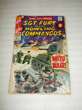 MARVEL COMICS THE SGT. FURY HOWLING COMMANDOS APRIL 1968 VERY GOOD CONDITION