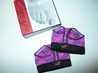 NIB CAPEZIO Foot Undeez Thong Dance Shoes Modern Lyrical Adult Medium 8-9 Pink