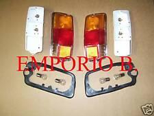 COPPIA FANALI POSTERIORI COMPLETI+ 4 LAMPADINE FIAT 500 F L R