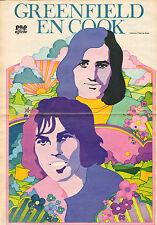 POSTER GREENFIELD & COOK 1972 (TEKENING PETER DE SMET)