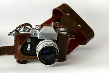 Zenit 3 Spiegelreflexkamera M39 + MIR 2,8 37mm Grand Prix Prix Brussels 1958