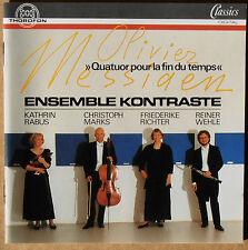 Olivier Messiaen - Quatuor pour la fin du Temps - Ensemble Kontraste - CD neu