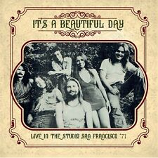 IT'S A BEAUTIFUL DAY - Live In The Studio San Francisco '71. New CD + Sealed