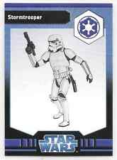 2009 Star Wars Miniatures Stormtrooper Stat Card Only Near Mint