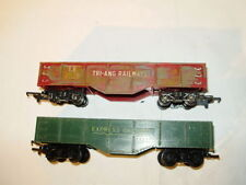 Tri-ang Plastic C-4 Fair OO Scale Model Train Carriages
