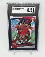 2019-20 Panini Revolution #106 Coby White Bulls RC Rookie SGC 8.5 Comp PSA BGS