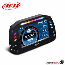"""Strumentazione AIM MXS 1.2 Strada display 5"""" per auto e moto+cavo OBD (CAN+K)"""