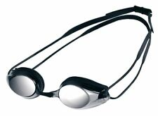 Arena Tracks Mirror Swimming Goggles - Black