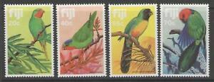 FIJI SG651/4 1983 PARROTS MNH