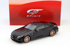 MERCEDES-BENZ S63 Brabus 850 Año Fabricación 2015 Negro 1:18 gt-spirit