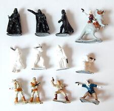 Lot of (12) 1982 Star Wars Micro Metal Figures Darth Vader Luke Han Tauntaun