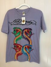 NWT Men's Ed Hardy T Shirt Christian Audigier Size Large