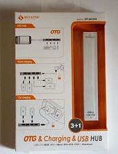 Micro USB OTG Charger USB HUB for Android Smart Phone and Tablet NEW 4 Port 2.0
