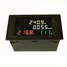 AC 80-300V LCD Digital 100A Volt Watt Power Kwh Meter Ammeter Voltmeter Proper
