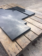 Bespoke Brazilian SLATE Hearth / Fireplace Natural, Honed, Riven cut to size.