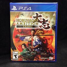 Nobunaga's Ambition : Taichi (PlayStation 4) BRAND NEW / Region Free / In Stock