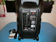 Beschallungsanlage 700W MB15 Bluetooth, USB, SD, Funkmikrofon Fernbed.