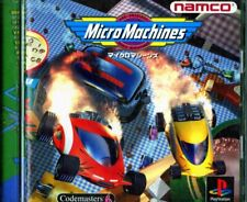 Micro Machines PS1 Namco Sony PlayStation 1 From Japan